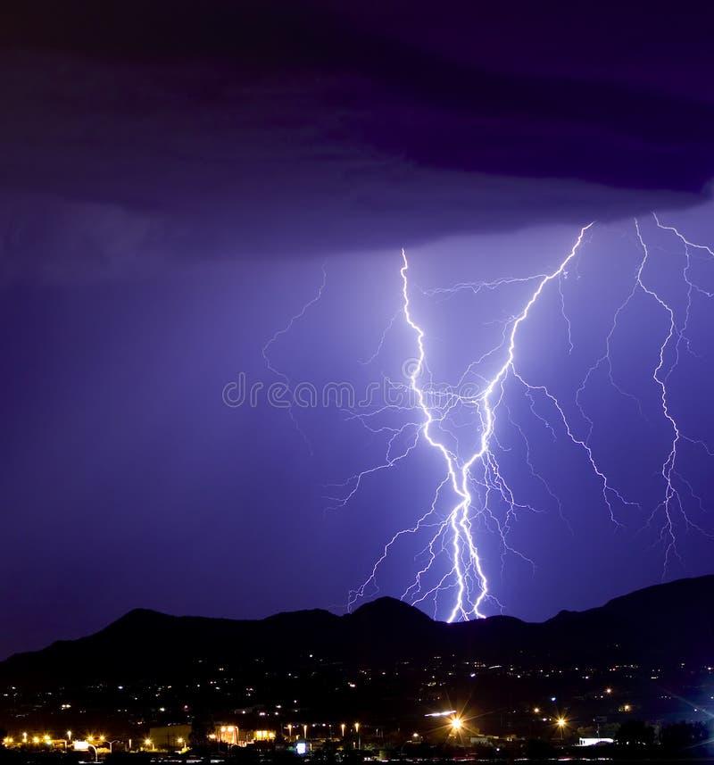 Lightning Sparkly Στοκ Εικόνα