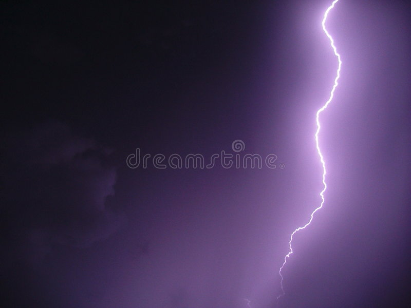 Lightning Storm stock images