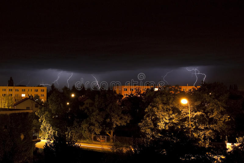 Download Lightning strike stock photo. Image of electrical, power - 10404932