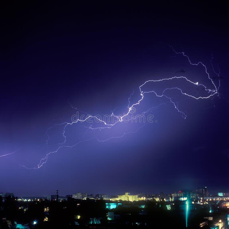 Download Lightning Strike stock photo. Image of night, phenomena - 10937786