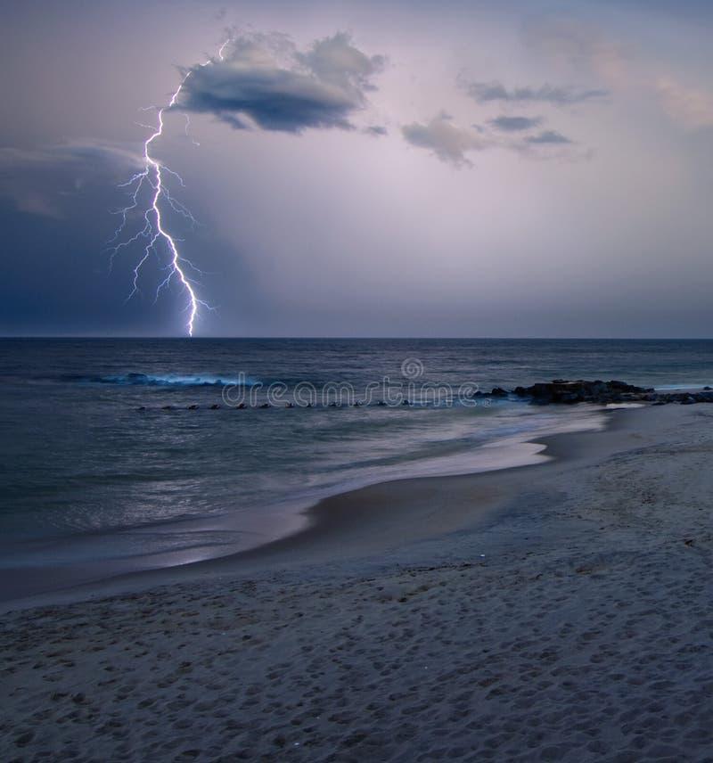 Download Lightning strike stock photo. Image of spring, clouds - 15373668