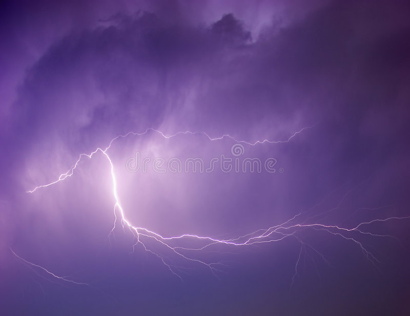 Download Lightning Strike stock photo. Image of spectacle, energy - 5603544