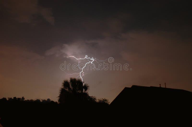 Lightning Strike royalty free stock photography