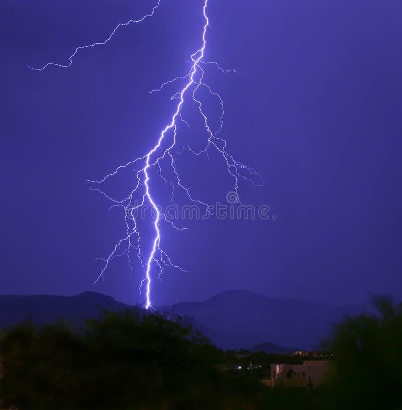 Lightning Strike I stock images