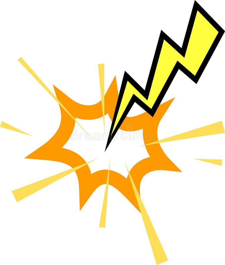 Lightning Striking Stock Images