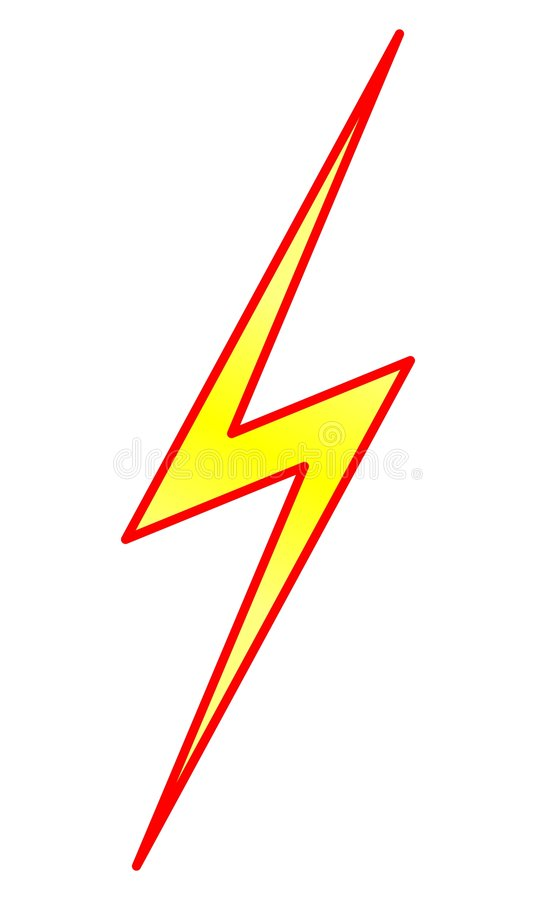 Lightning Symbol Stock Photography Image 8162182