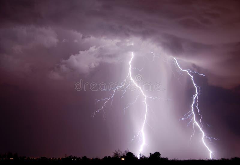 Lightning - Tucson, AZ Stock Photo