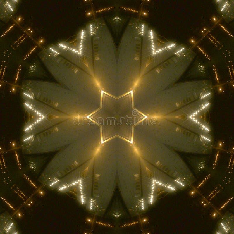 Lightning White Gold Abstract Background vector illustration