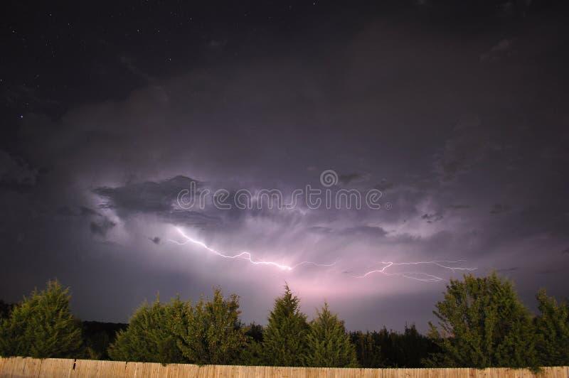 lightning8 стоковая фотография