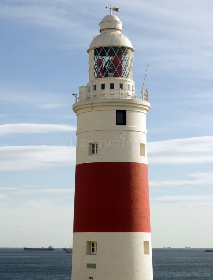 lightouse du Gibraltar images stock