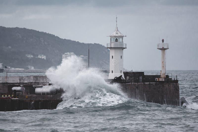 Lightouse Yalta στοκ φωτογραφίες με δικαίωμα ελεύθερης χρήσης