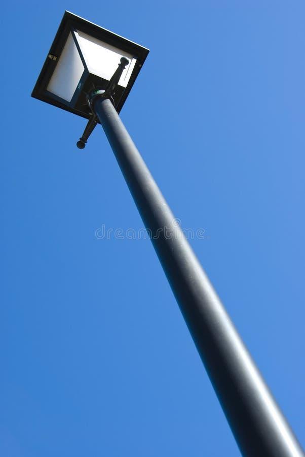 Lightpole on The blue Sky stock images
