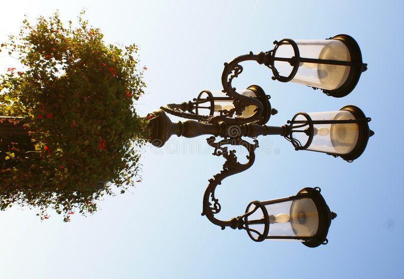 Lightpost Stock Photo