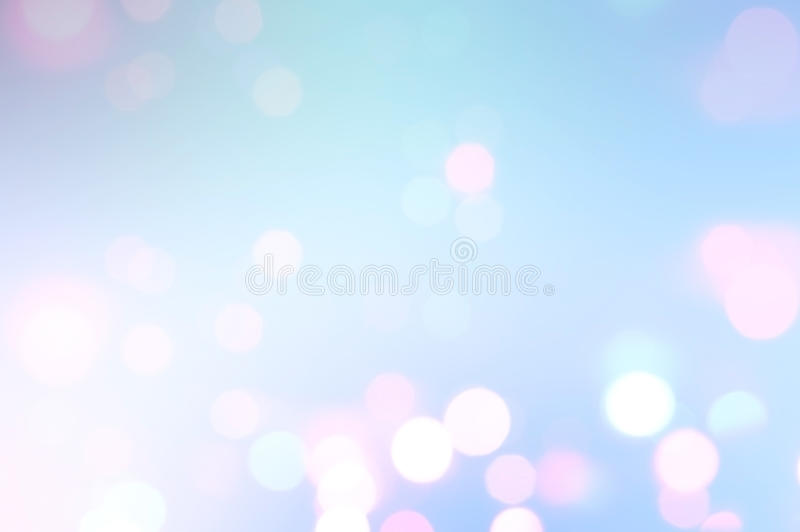 Lights on blue background. royalty free stock images