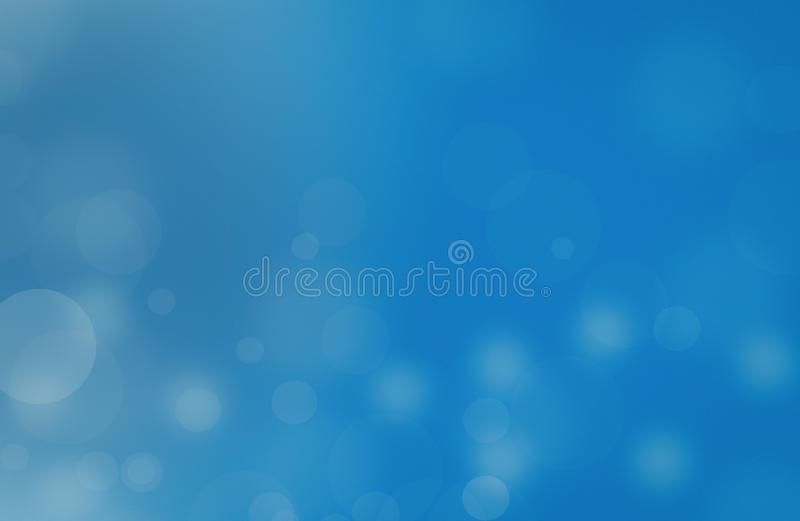 Lights on blue background.Holiday New year Abstract Glitter Defocused Background With Blinking Stars and sparks royalty free stock images