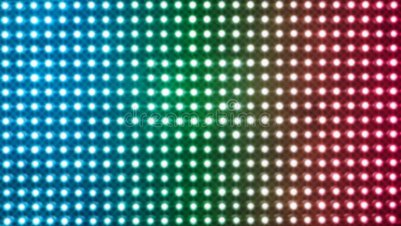 Out Of Focus Lights Background stock image