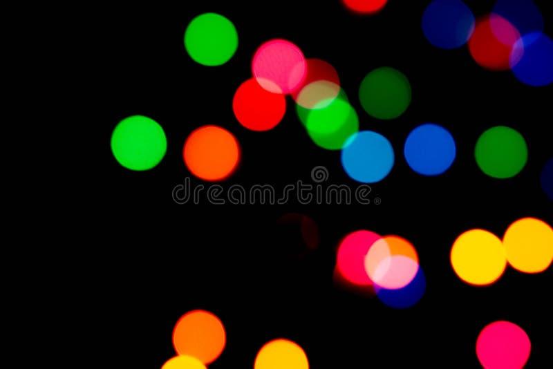 Lights bokeh sparkle background apresenta para celebração de feriado Copiar espaço foto de stock royalty free