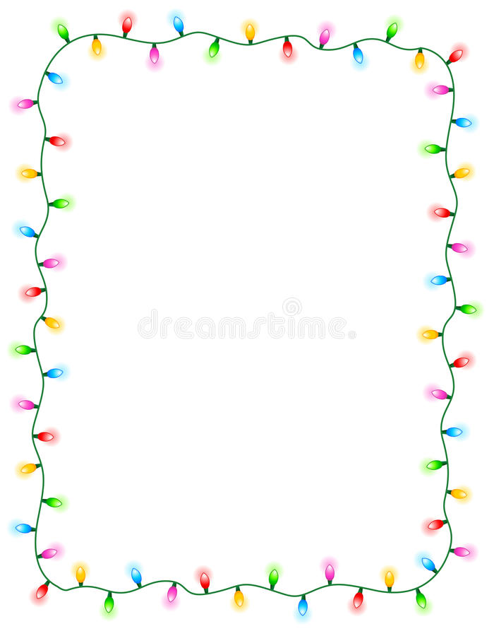 Free Lights Border Royalty Free Stock Photos - 14683008