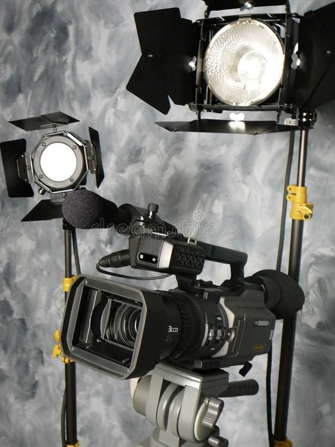 Free Lights, Camera, Action! Stock Photography - 1079092