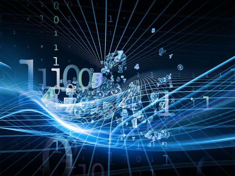 Download Lights of Fractal Realms stock illustration. Illustration of information - 34204306