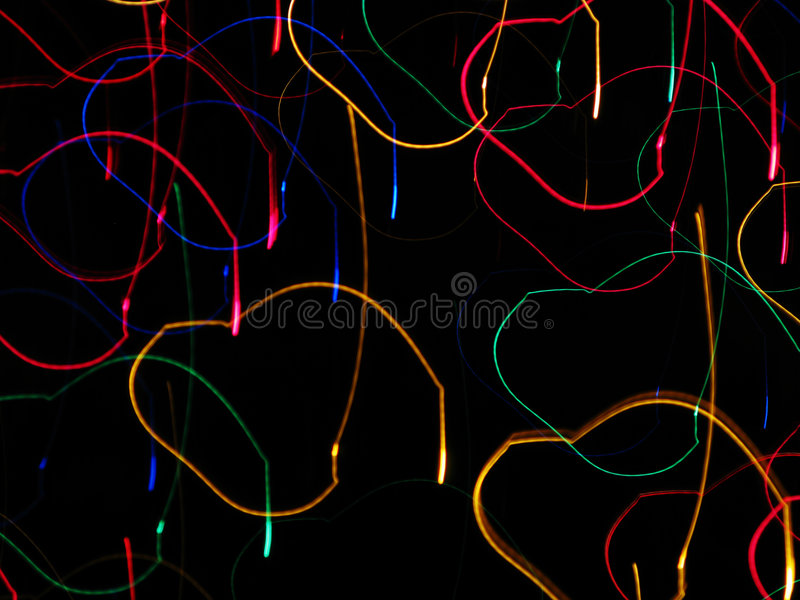 Lights in Motion stock image