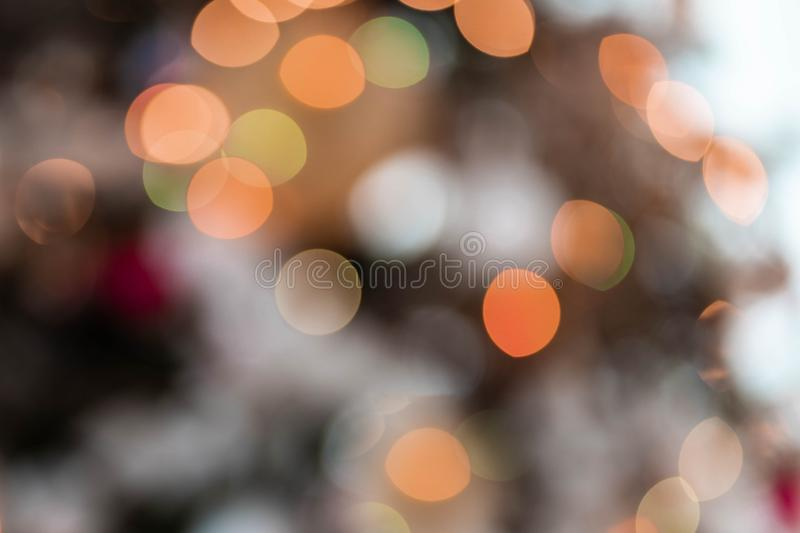 Lights Multi Colored Abstract Bokeh stock photography