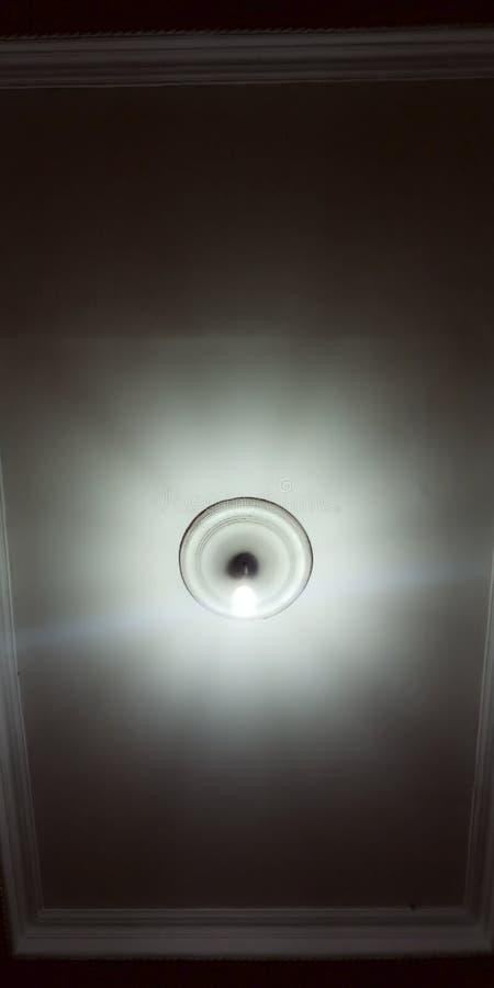 Lights at night stock photo