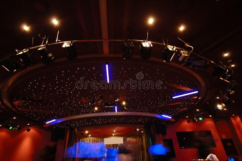 lights nightclub στοκ φωτογραφία