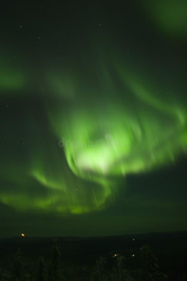 lights northern swirling στοκ εικόνα με δικαίωμα ελεύθερης χρήσης