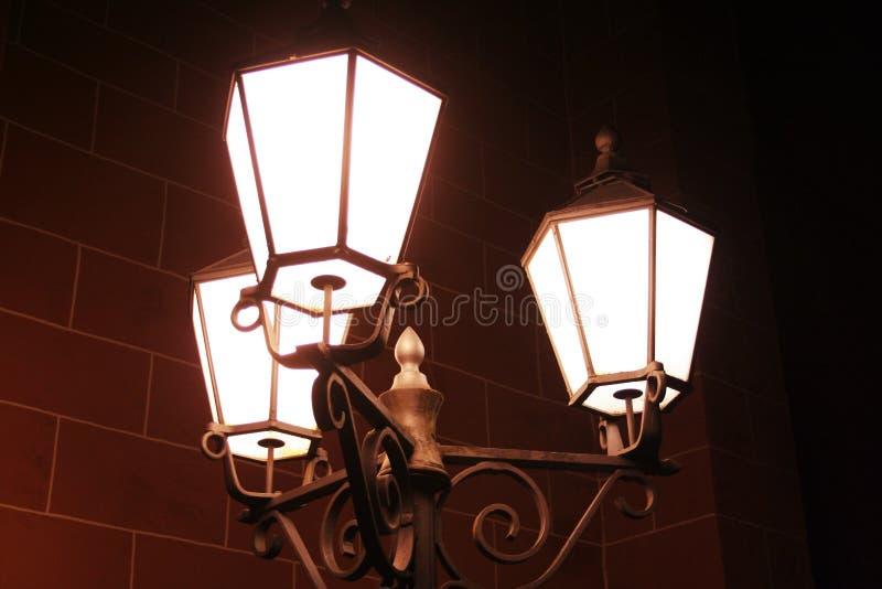 lights old street στοκ φωτογραφίες