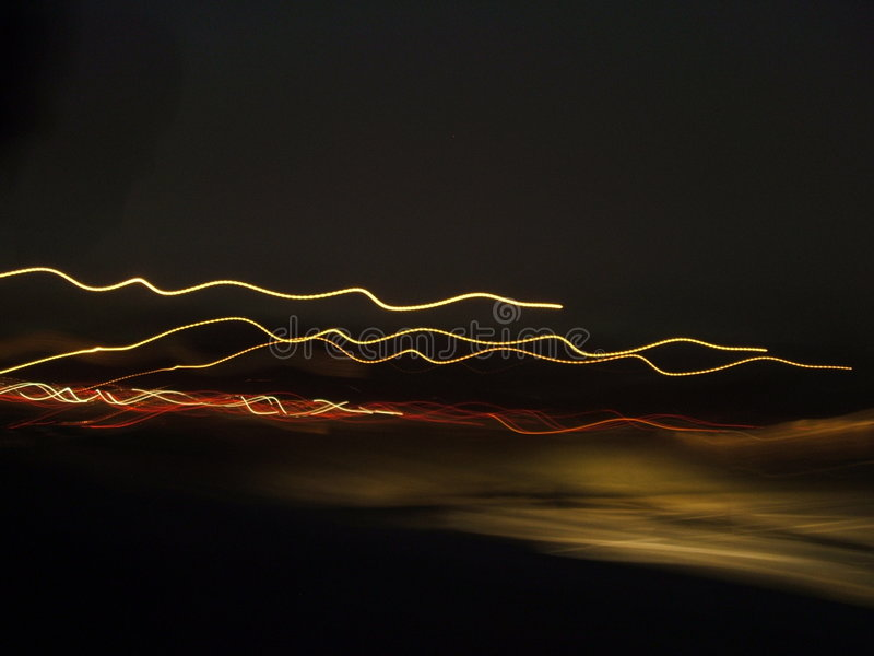 lights racing στοκ εικόνες
