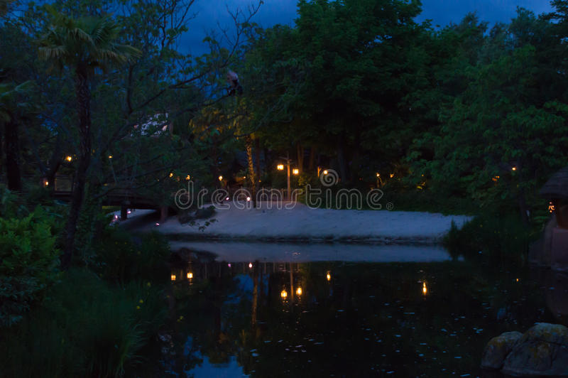 lights reflections στοκ εικόνα