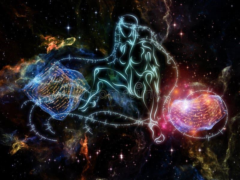 Lights of Rhyme vector illustration