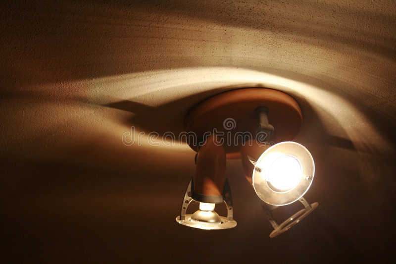 lights shadows yellow στοκ φωτογραφία