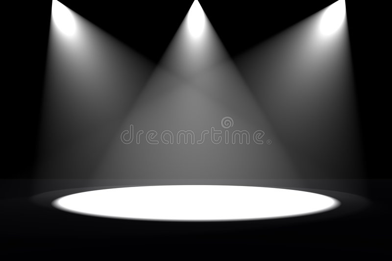 lights spot διανυσματική απεικόνιση