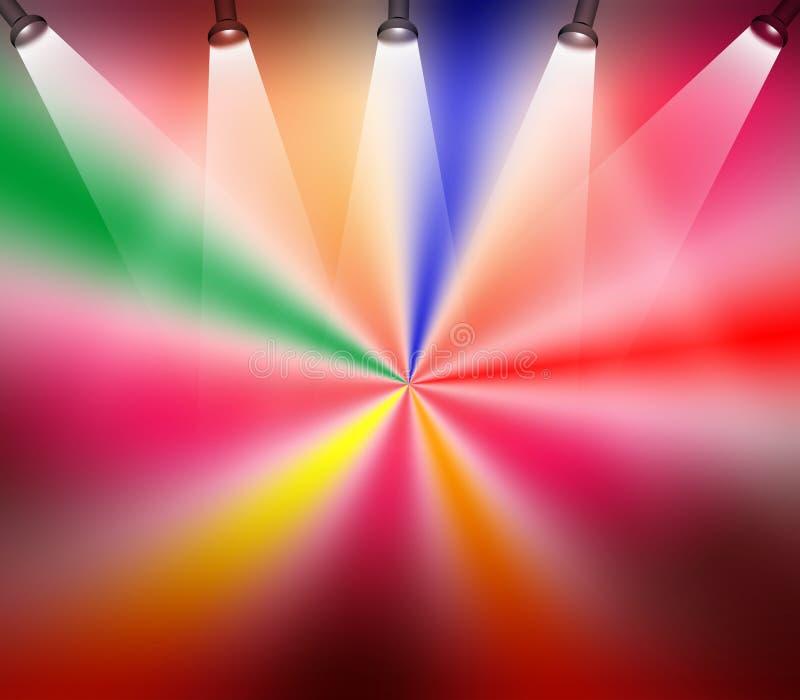 lights stage ελεύθερη απεικόνιση δικαιώματος