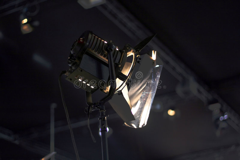 lights studio στοκ εικόνα με δικαίωμα ελεύθερης χρήσης