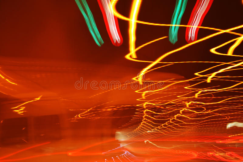 Lights In Tunnel Royalty Free Stock Photography