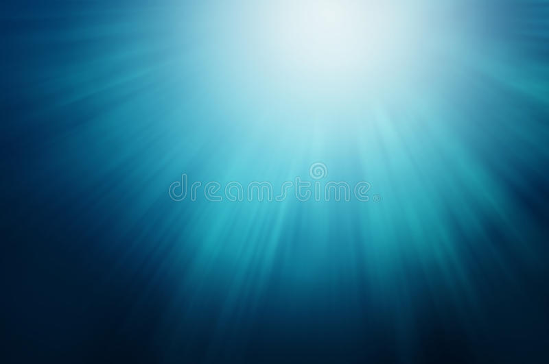 Lights Under The Sea stock photography