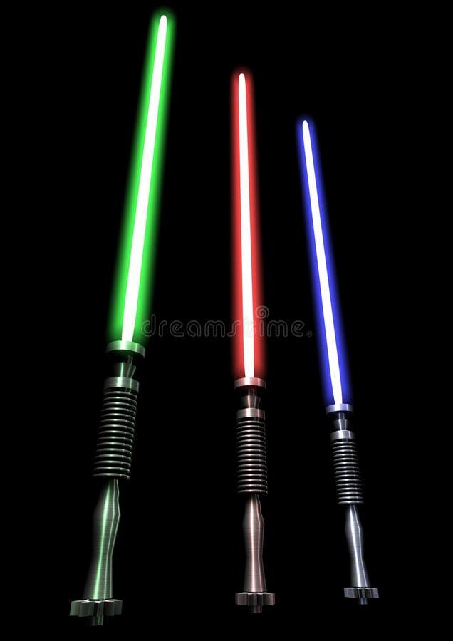 lightsabers стоковые фото