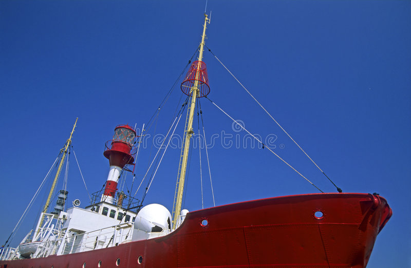 Lightship royalty free stock photography