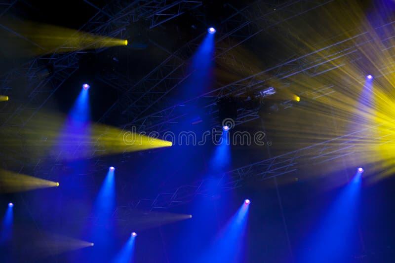 Lightshow arkivbild