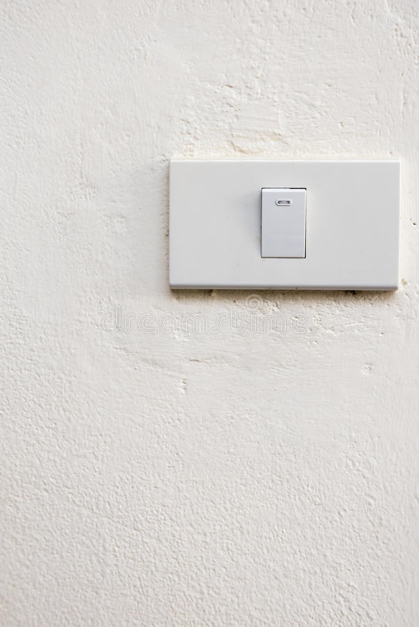 Lightswitch stock image