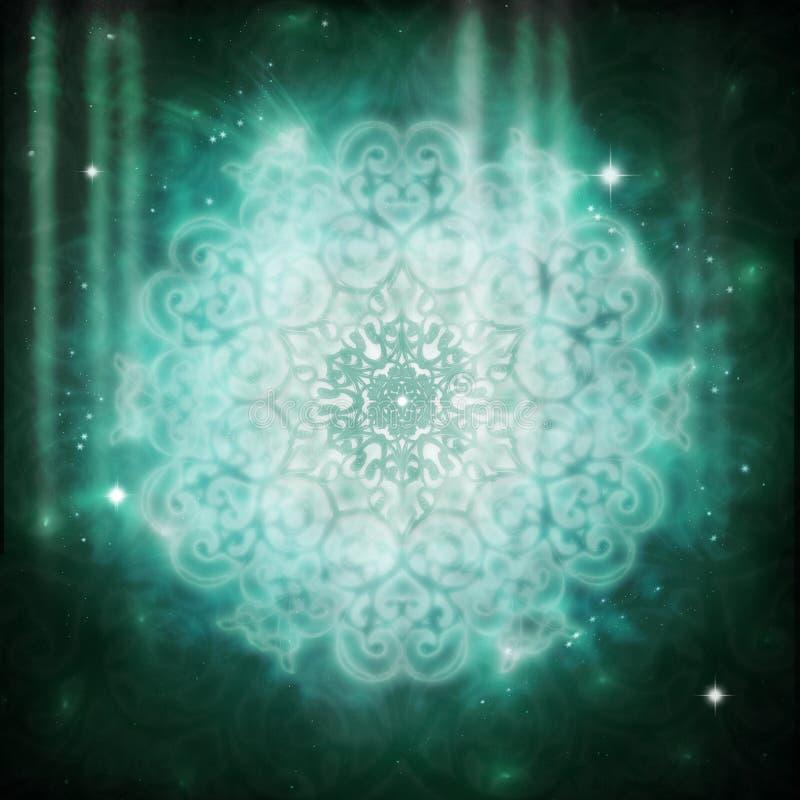 lightworker mandala royalty ilustracja