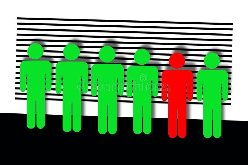 Ligne illustration stock