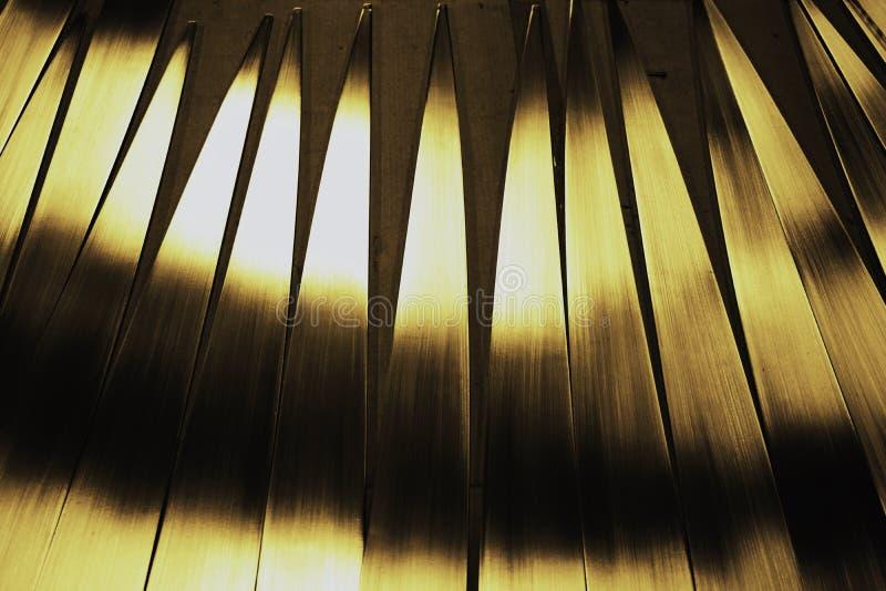 Ligne abstraite en métal image libre de droits