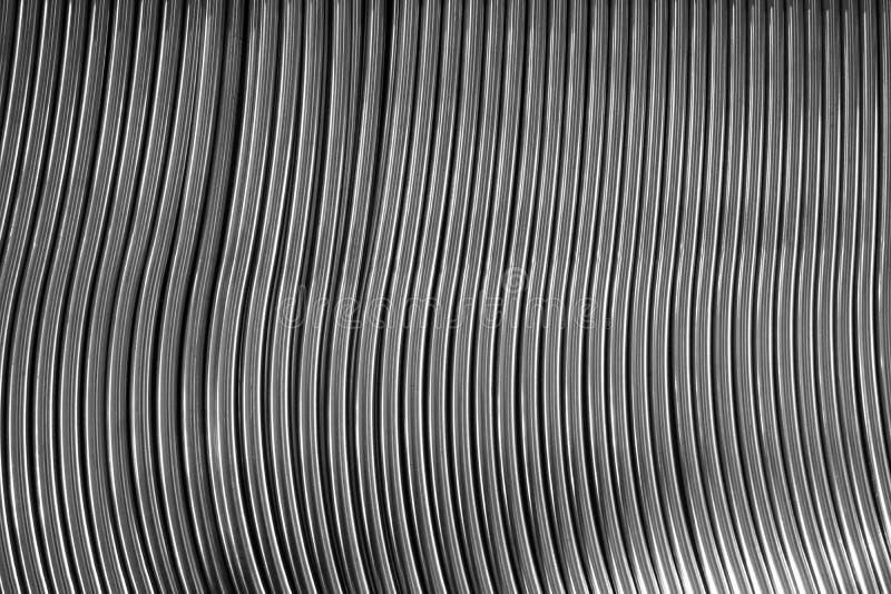 Ligne abstraite en métal photo stock