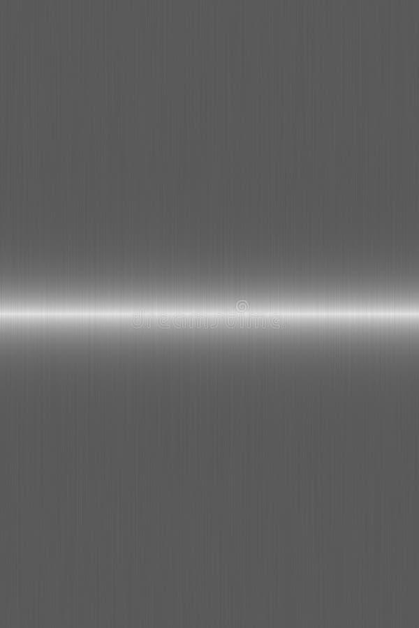 Ligne argentée balayée montant illustration stock