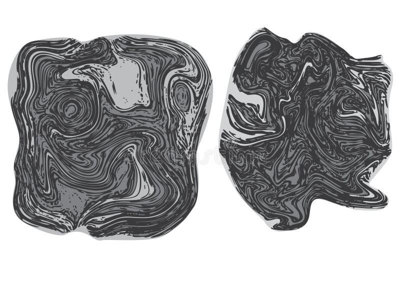 Ligne Art Stone Texture illustration stock