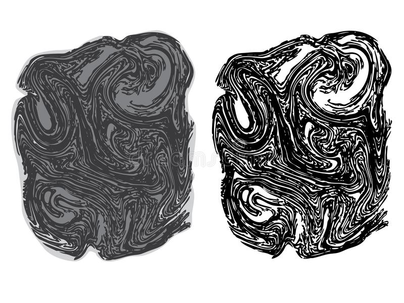 Ligne Art Stone Texture illustration libre de droits